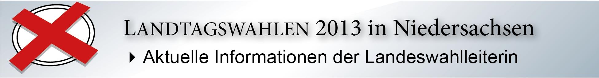 Landtagswahl 2013
